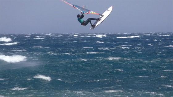Windsurfing Jump - Alex Mussolini