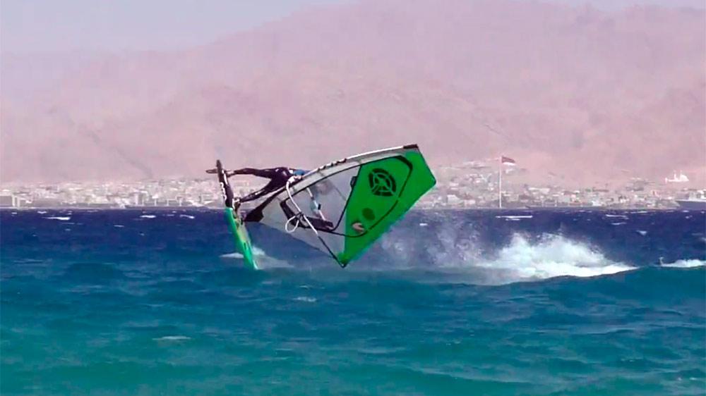 Yarden Meir freestylin' in Eilat