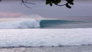 Carine Camboulives and Manu Bouvet in Fanning Island