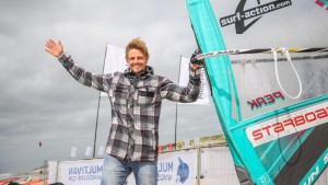 Flo Jung wins the wave event at the Summeropening in Sylt 2017 (Photo: Choppy Water)