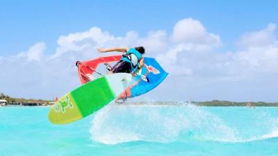 Dieter van der Eyken in Bonaire