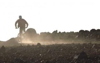 Kevin Pritchard rides the MTB on Maui