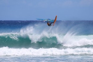 Marco Revel with a big Aerial at Diamond Head