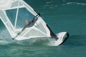Cesare Cantagalli jibing the Duowind - Photo: Squitieri/CANON