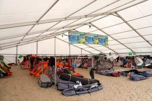 Equipment tent