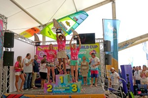 Sarah-Quita Offringa wins in front of Maaike Huvermann and Oda Johanne