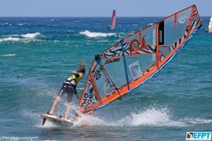 Jacopo Testa slides through a regular Chacho (Pic: EFPT)