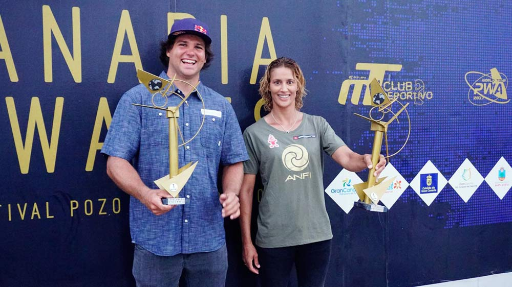 Daida Moreno and Philip Köster