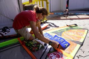 Jacopo Testa getting ready