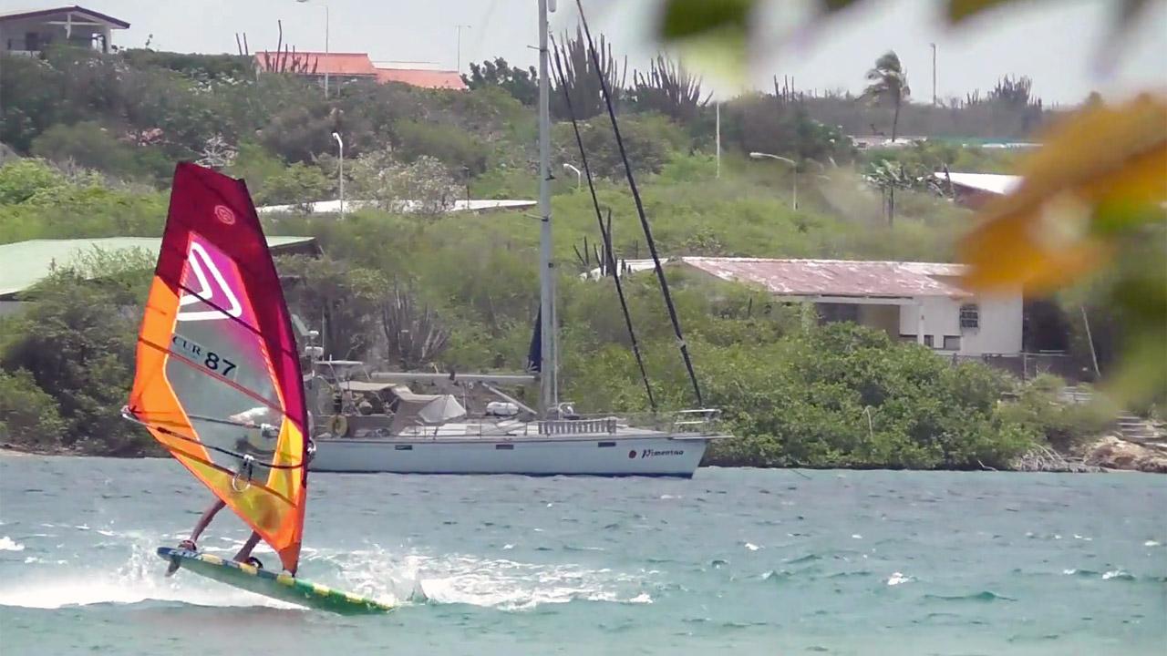 Stefan de Bell in Curacao in August 2017