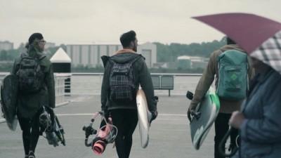Windsurfing adventure Ferrytale in Kiel 2017