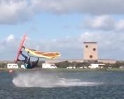 Remko de Zeeuw in Brouwersdam