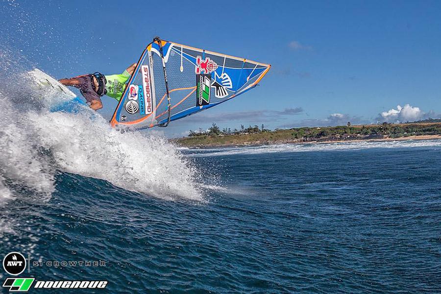 Kevin in Ho'okipa, Maui
