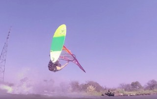 Graham Feddersen with freestyle action from San Francisco