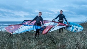 Mads Bjorna joined together with his son on NorthSails