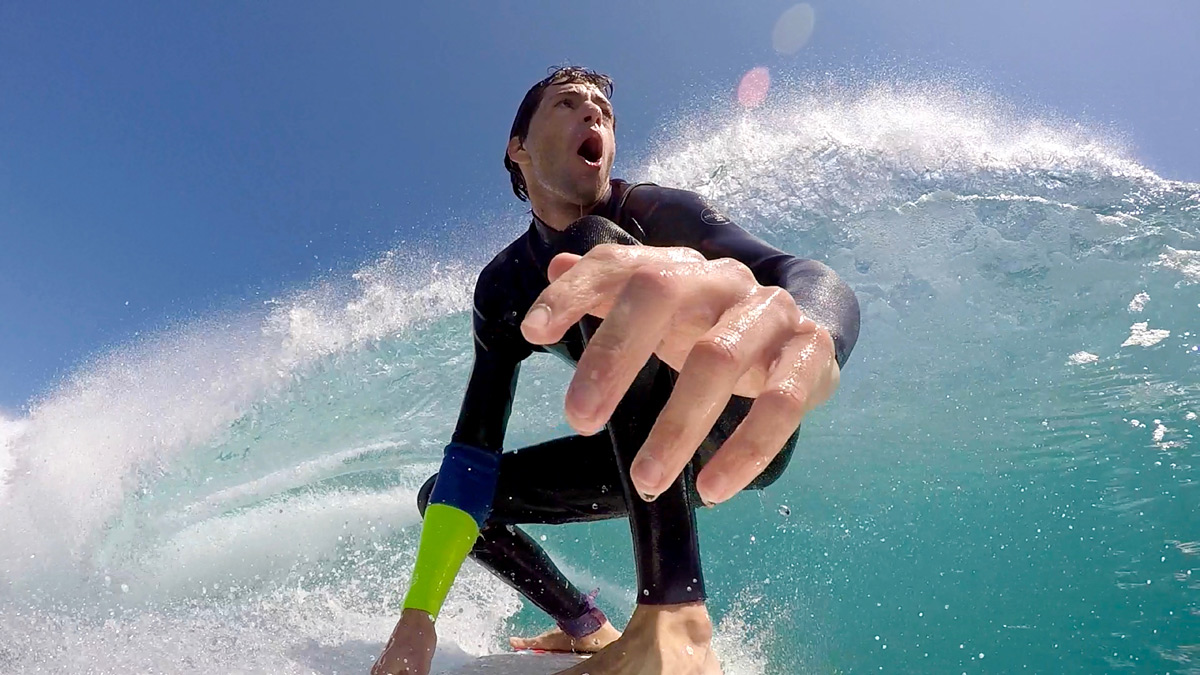 Infantino loves to surf in WA