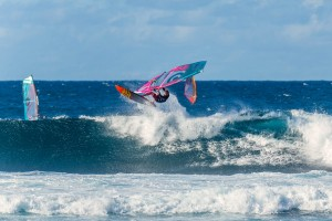 Justin Denel with an Aerial on his new gear (Photo: Sofi Loewy)