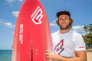 Malte Reuscher joins Fanatic / NorthSails (Photo: John Carter)