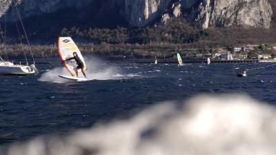 Mattia Fabrizi at Lake Como