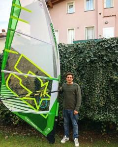 Mattia Fabrizi joins Challenger Sails for 2018