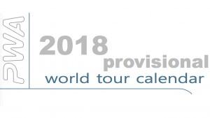 PWA provisional tour calendar 2018
