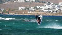 Pierre Garambois lands a Shaka in Paros