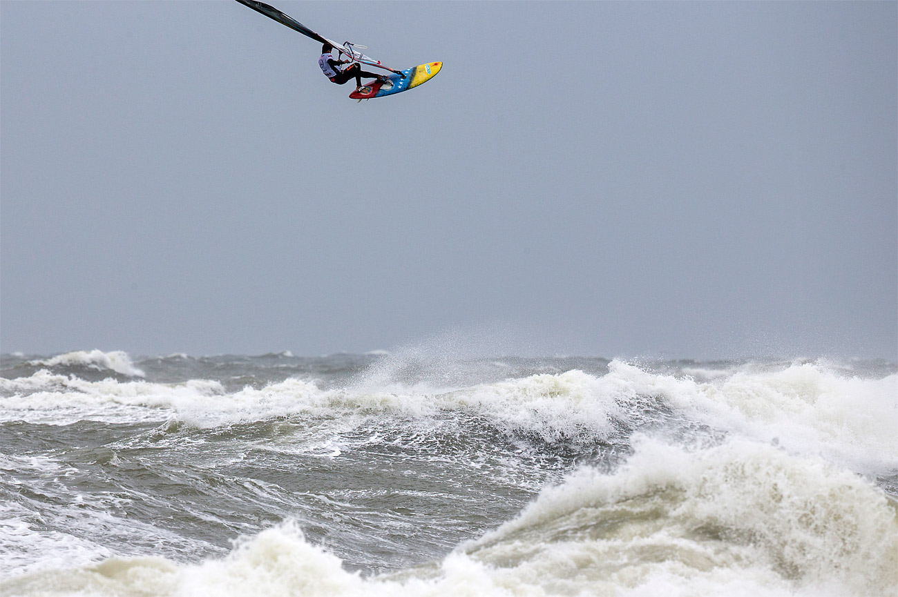 Ricardo Campello over Sylt in 2017 (Photo: John Carter/PWA)