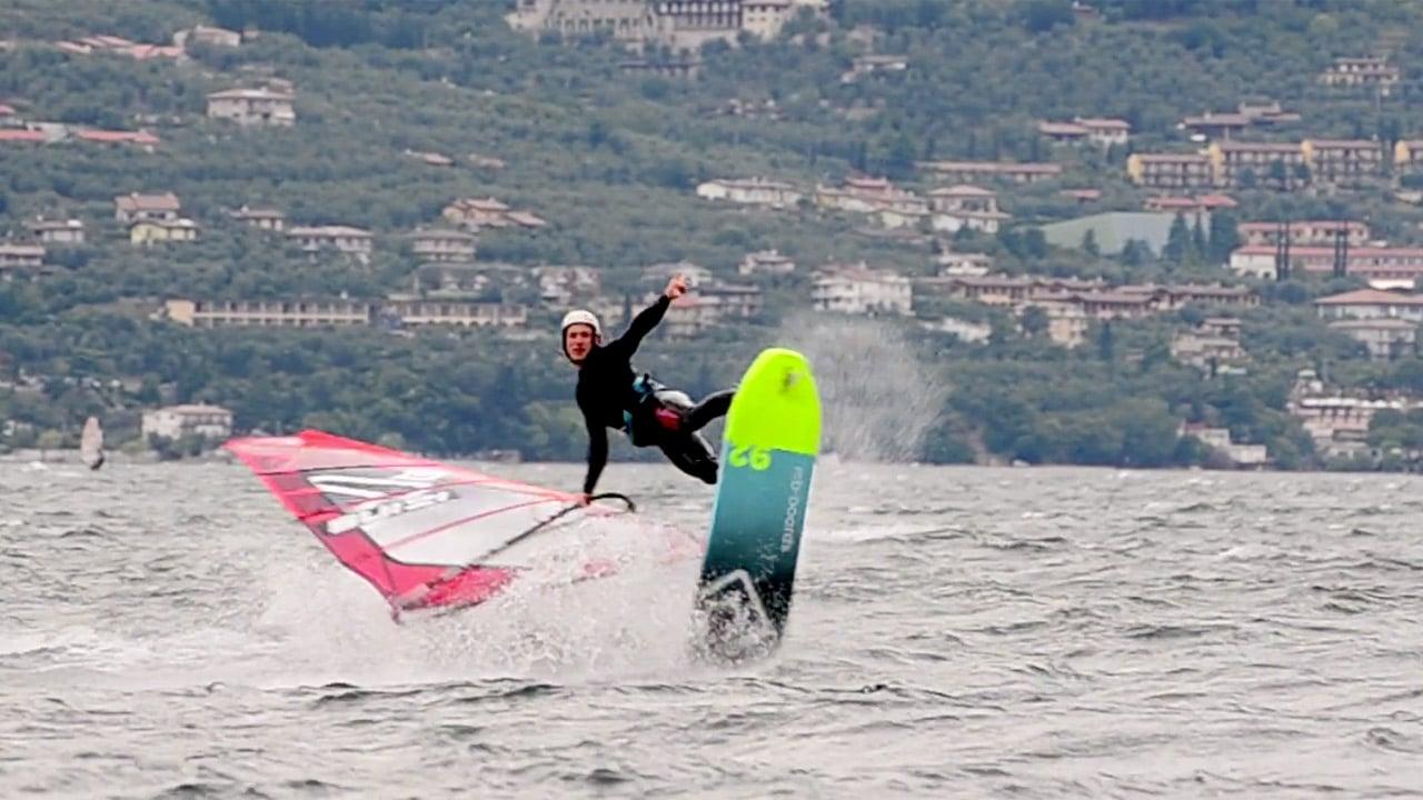 Balz Mueller at Lake Garda