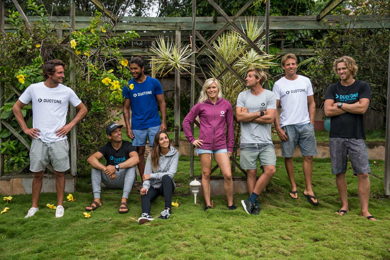 Gollito & Co on Maui: The Duotone team will b e the same as the NorthSails team
