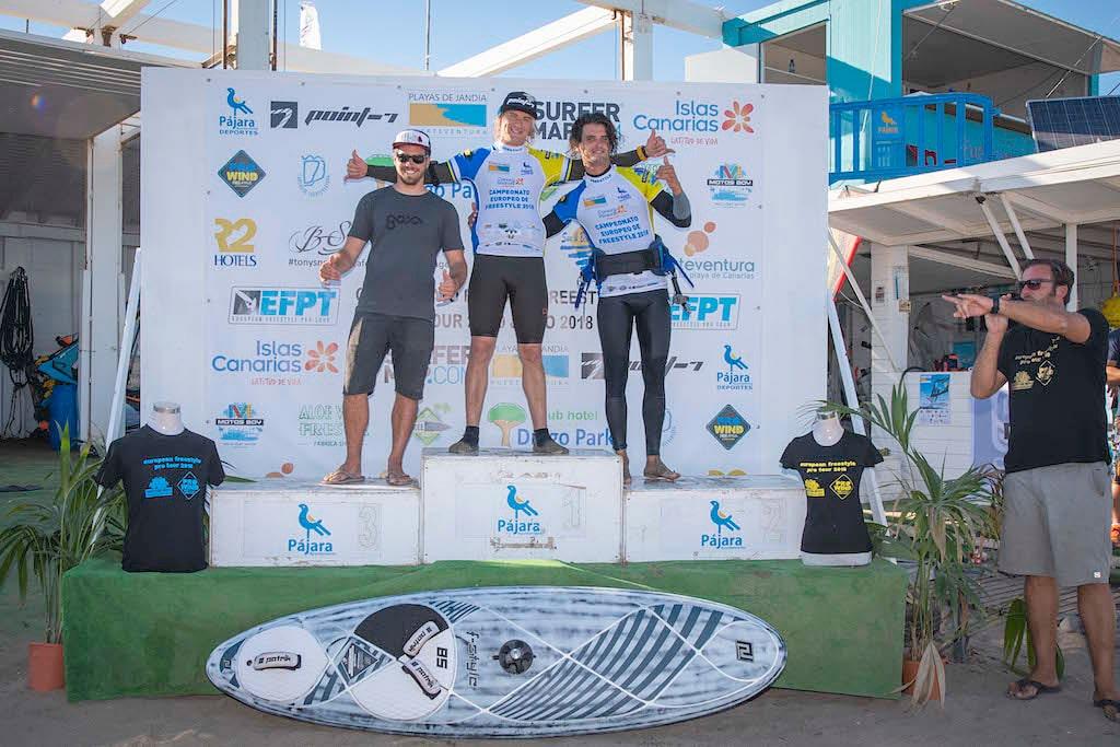 EFPT Fuerteventura 2018 - winners double