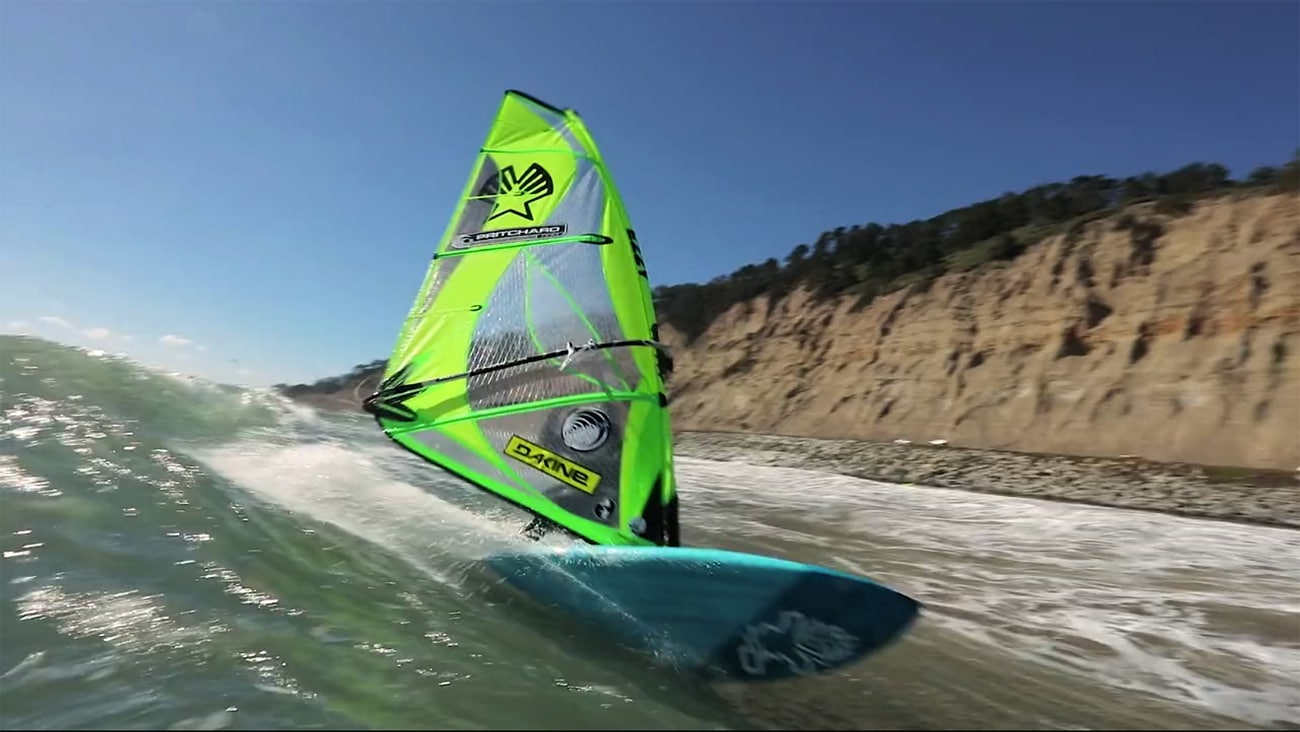 Kevin Pritchard rides the waves at Waddell Creek