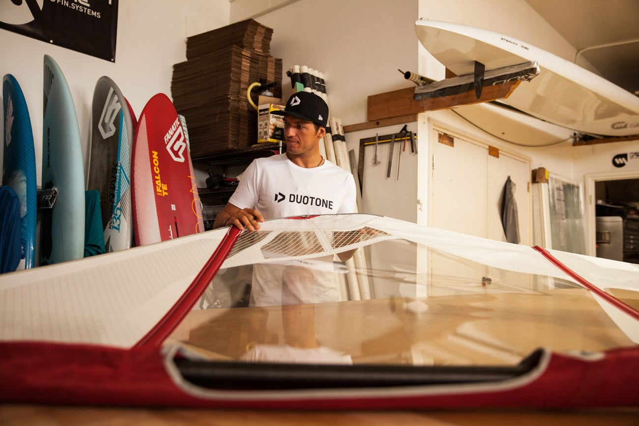 Victor Fernandez is well prepared to battle for teh first Wave World title for Duotone