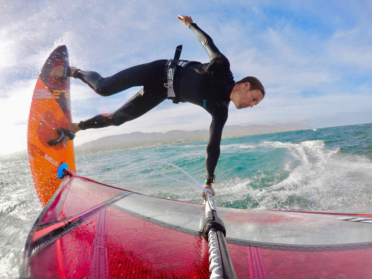 Windfoiling - an interview with Wyatt Miller | Continentseven