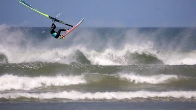 Finn Mellon in Ireland's wave