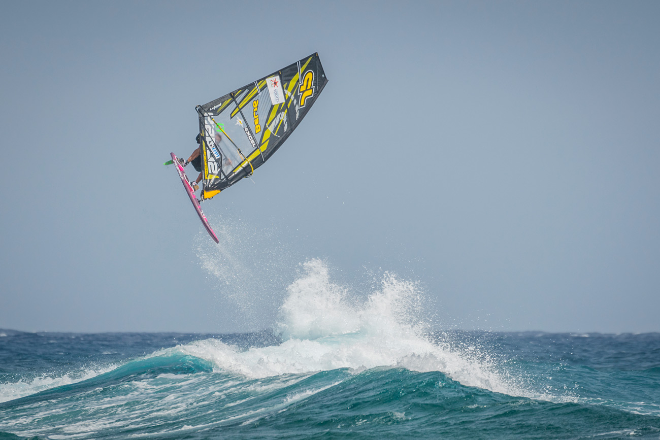 Yentel with a big Forward in Costa Teguise (Photo by Gwen Marche/EFPT)