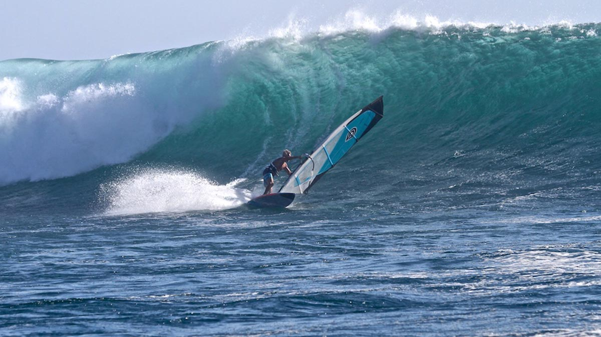 Good Windsurfing The Indian Ocean With Hans Isaac