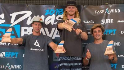 winner on the podium in the EFPT Costa_Brava 2018