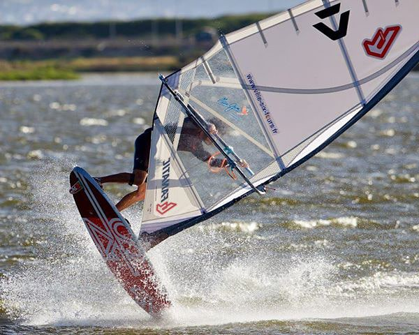 Adrien Bosson with powerful freestyle action at Rietvlei Lake