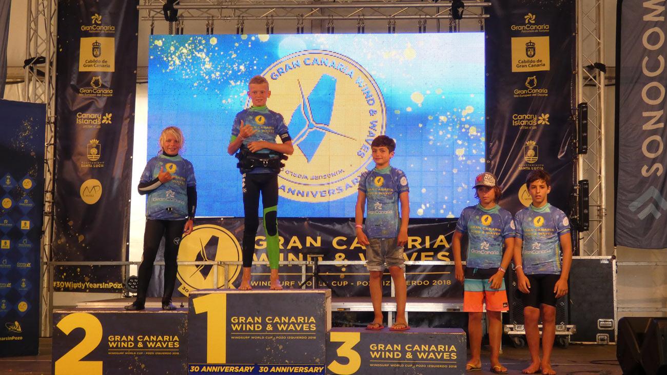 Tobias Bjorna made it on the top spot of the podium in Pozo Izquierdo in 2018.