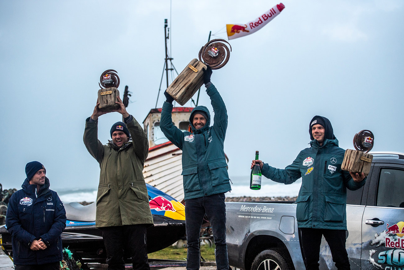 Jaeger Stone shares the podium with Philip Köster & Leon Jamaer