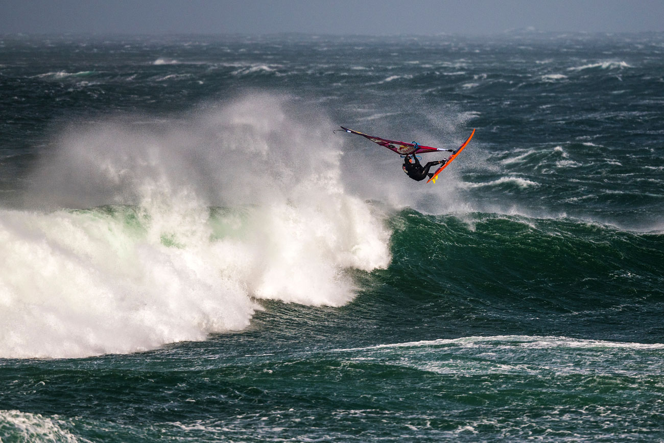 Leon Jamaer with a big Aerial