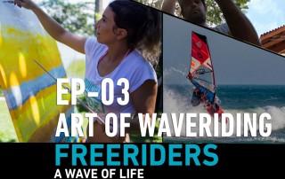 art of waveriding Yann Rifflet and Leysa Perotti