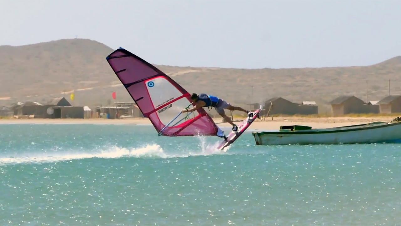 Benoit Devinat with freestyle action from Colombia