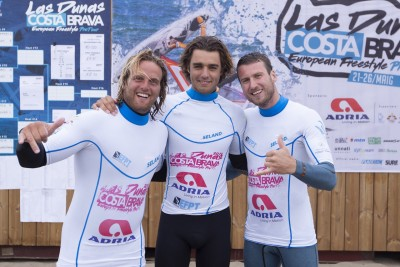winners of the EFPT tow in at Costa Brava (Photo by Vermeulen/EFPT