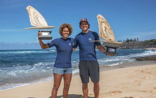 Sarah-Quita Offringa and Philip Köster 2019 PWA Wave World Champions