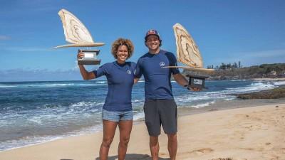 Sarah-Quita Offringa and Philip Köster 2019 PWA Wave World Champions