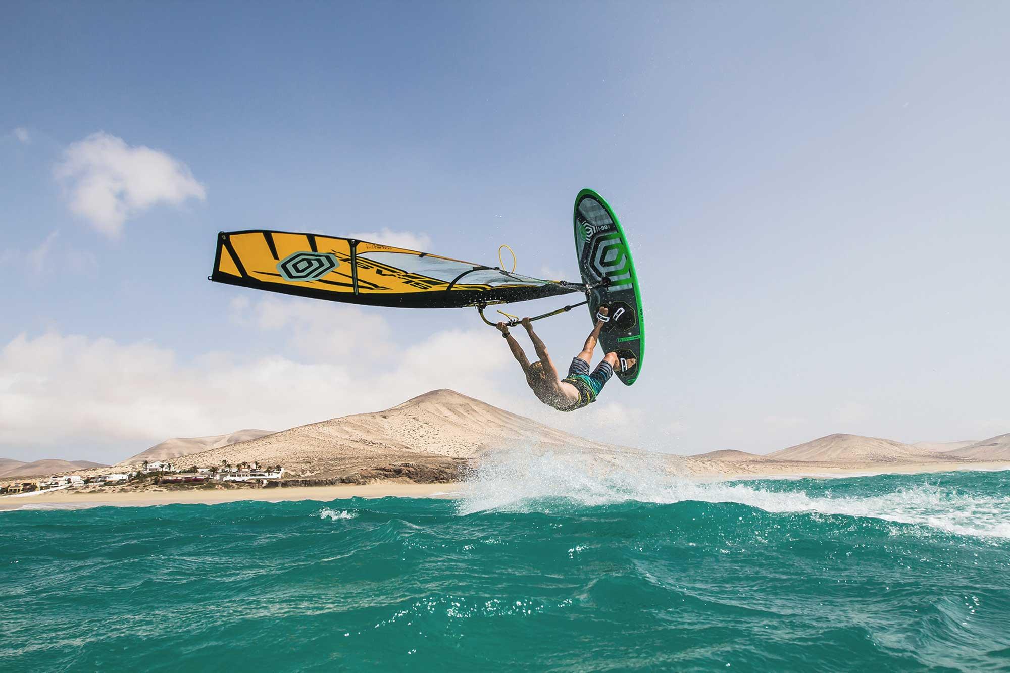 Yentel Caers in Fuerteventura - Pic: PWA/John Carter