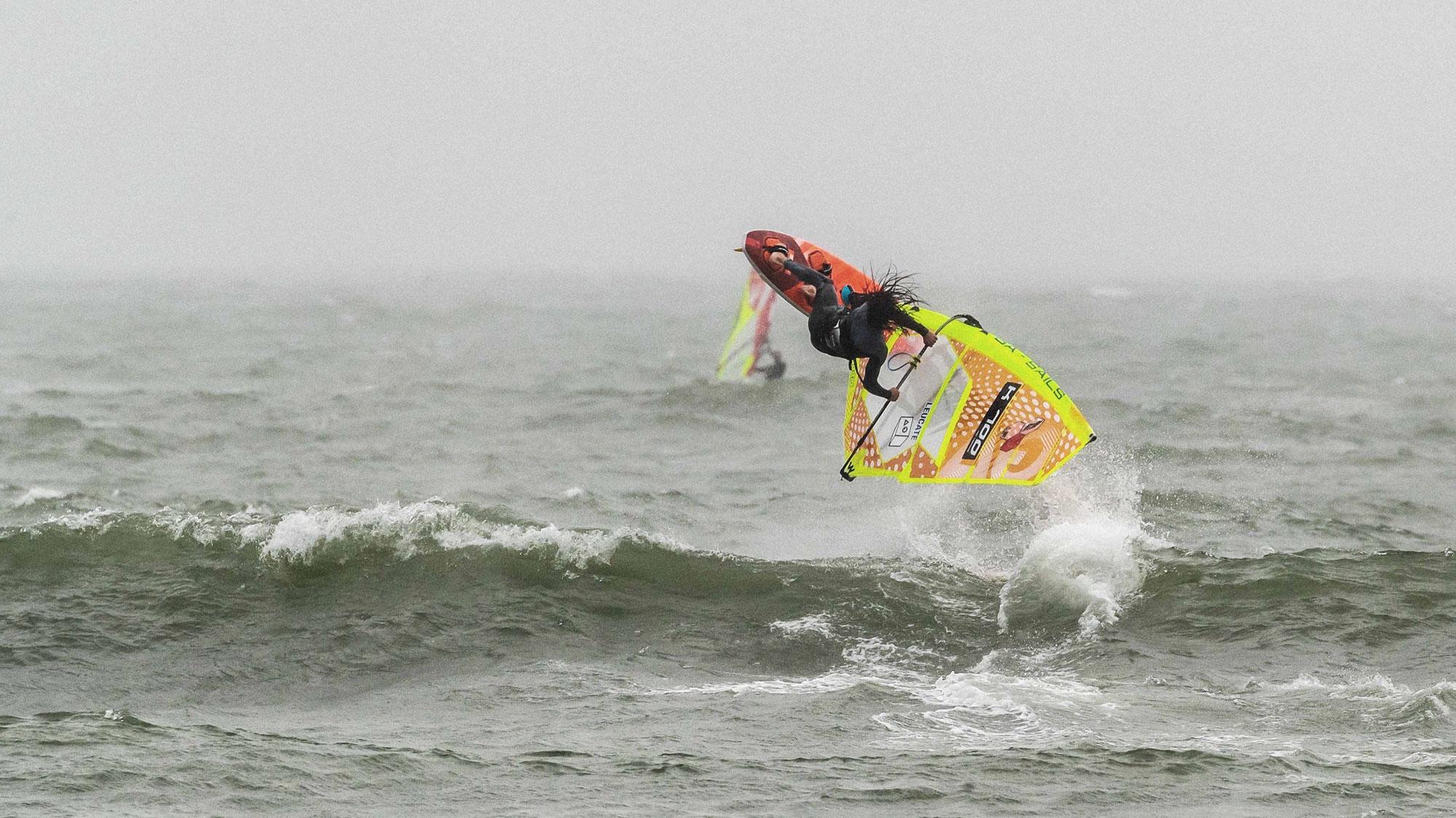 Nic Hibdige back on the water again