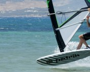 Switch Chacho by French freestyle windsurfer Pierre Garambois