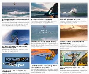 Windsurfing Videos